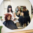 Hair salon situation - Stock Photo