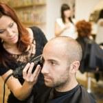 situación de afeitar — Foto de Stock