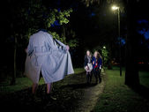 Flasher at night — Foto de Stock