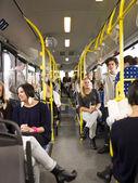バスの中で — ストック写真