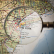 New York map — Stock Photo #7838856