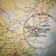 New York map — Stock Photo #7838944