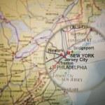 New York map — Stock Photo #7838944