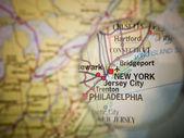 New York map — Stock Photo