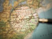 Map of Washington — Stock Photo