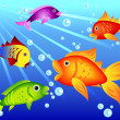 Fun colorful fish — Stock Vector #7103619