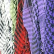 Keffieh scarves - Stockfoto