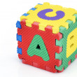 Stock Photo: Fun alphabet cube