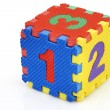 Fun number cube — Stock Photo #7240117