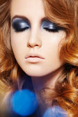 Beauty and health, cosmetics and make-up. Close-up portrait — Stock Photo
