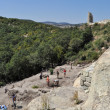 Excavation work at the ancient Thracian city of Perperikon - Stockfoto