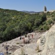 Excavation work at the ancient Thracian city of Perperikon - Stock Photo