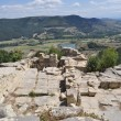 View at the ancient Thracian city of Perperikon — Foto de Stock