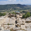 View at the ancient Thracian city of Perperikon - Stockfoto