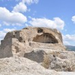 Ancient Thracian surface tomb, sanctuary of Orpheus - Stockfoto