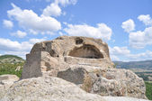 Ancient Thracian surface tomb, sanctuary of Orpheus — Stock Photo