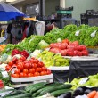 Fresh and organic fruits and vegetables — Foto de stock #7190454
