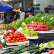 Foto de Stock  : Fresh and organic fruits and vegetables