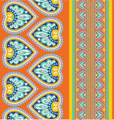 Seamless pattern with ethno motives — Cтоковый вектор