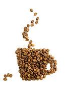 Coffee Logo — Zdjęcie stockowe