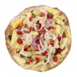 Foto Stock: Crispy vegetaripizza