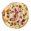 Crispy vegetaripizza — Stock Photo #6756944