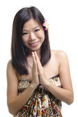 Asian female — Stock Photo