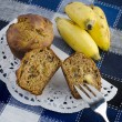 Banana muffins — Stock Photo #7307415