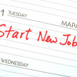 Stock Photo: Start new job concepts of new employment