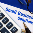 Provide financial solutions and support to Small Business — 图库照片
