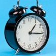 Classic alarm clock — Stock Photo #7183681