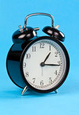 Classic alarm clock — Stock Photo