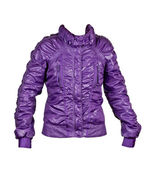 Purple ladies fashion jacket — Stock Photo