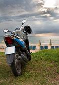 Motorcycle on Karon Beach Phuket — Stock Photo