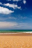 Sandy beach — 图库照片