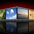 Movie background — Stock Photo
