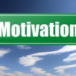 Motivation traffic sign - Stock Photo