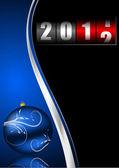 Novoroční přání — Stock fotografie