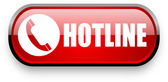 Hotline web button — Stock Photo