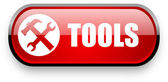 Tools web button — Stock Photo