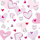 Alla hjärtans eller bröllop bakgrund — Stockvektor