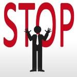 Stop — Stock Vector