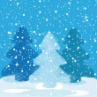Winter background — Stock Photo #7728797