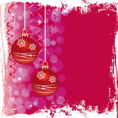 Grunge Christmas card — Stock Photo