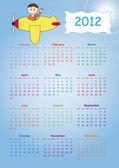 Calendar 2012 — Stock Photo