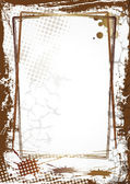 Grunge frame — Stock Photo