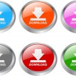 Download button — Stockvektor #7790800