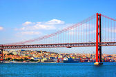Bridge in Lisbon, Portugal — Stock Photo