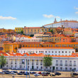 Lisbon old city, Portugal - Stock Photo