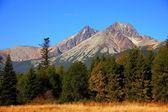 Slovakian Tatras mountains — Stock Photo
